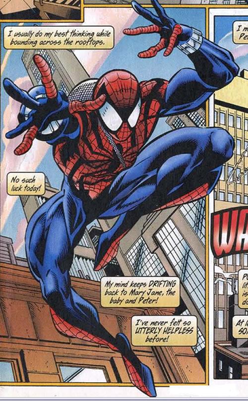 new spider-man costume. Ben Reilly ... & Amazing Spider-Man #404 Review