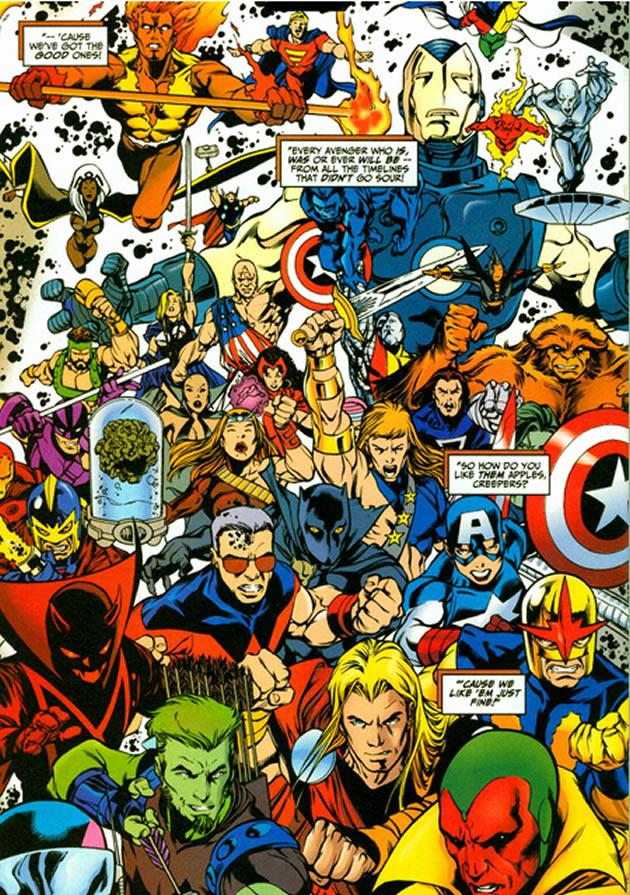 too many avengers?